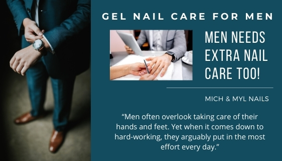 Manicure for Men